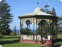 Catering event venue King Edward Park rotunda Newcastle