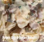 Potato Egg Bacon Salad