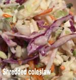 Shredded Coleslaw