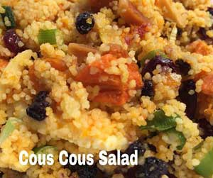 catering - cous cous salad